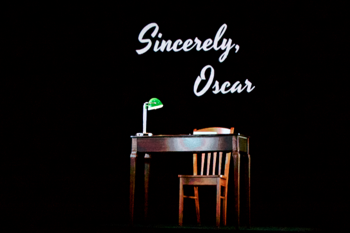 Sincerely, Oscar: The Musical  First Dress Rehearsal Proof Productions Sewell, NJ March 21, 2019  DerekBrad.com