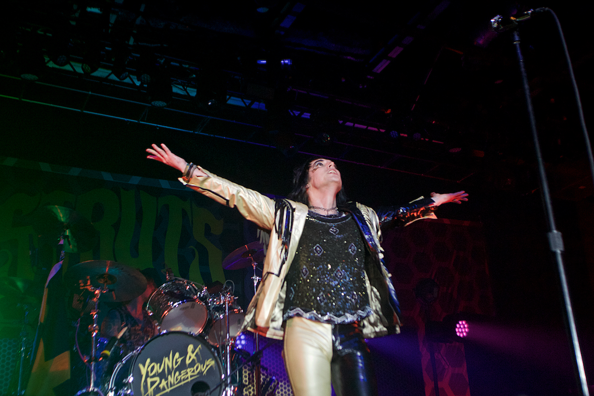 The Struts The Fillmore (Sold Out) Philadelphia, Pa December 28, 2019  DerekBrad.com