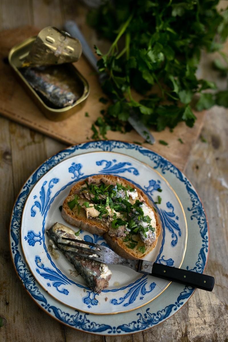 Sardines On Toast 2