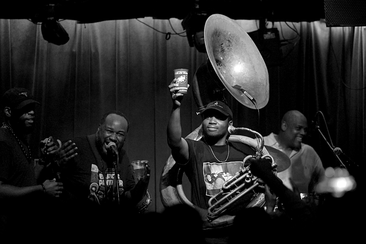 The Soul Rebels feat. GZA & Talib Kweli The Ardmore Music Hall Ardmore, Pa March 30, 2018  DerekBrad.com
