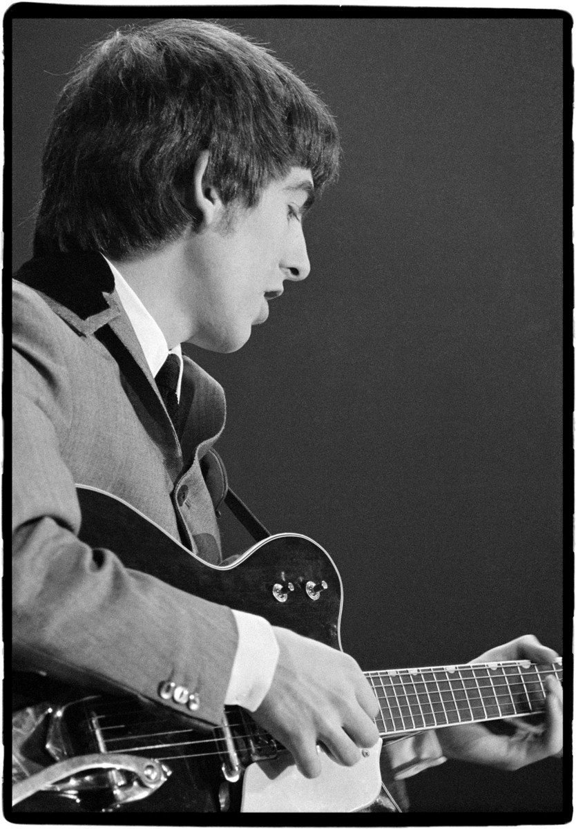 George Harrison Beatles 1st US Concert The Coliseum Washington DC 1964
