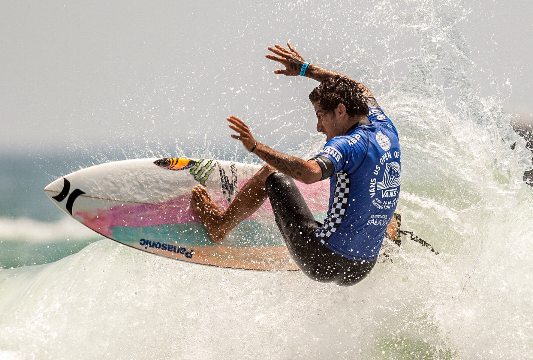 Vans US Open of Surfing 2014; Felipe Toledo