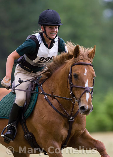Erin McPherson on Kiss the Sky, Inavale Horse Trials 2007