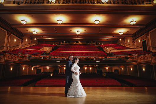victory theater evansville wedding