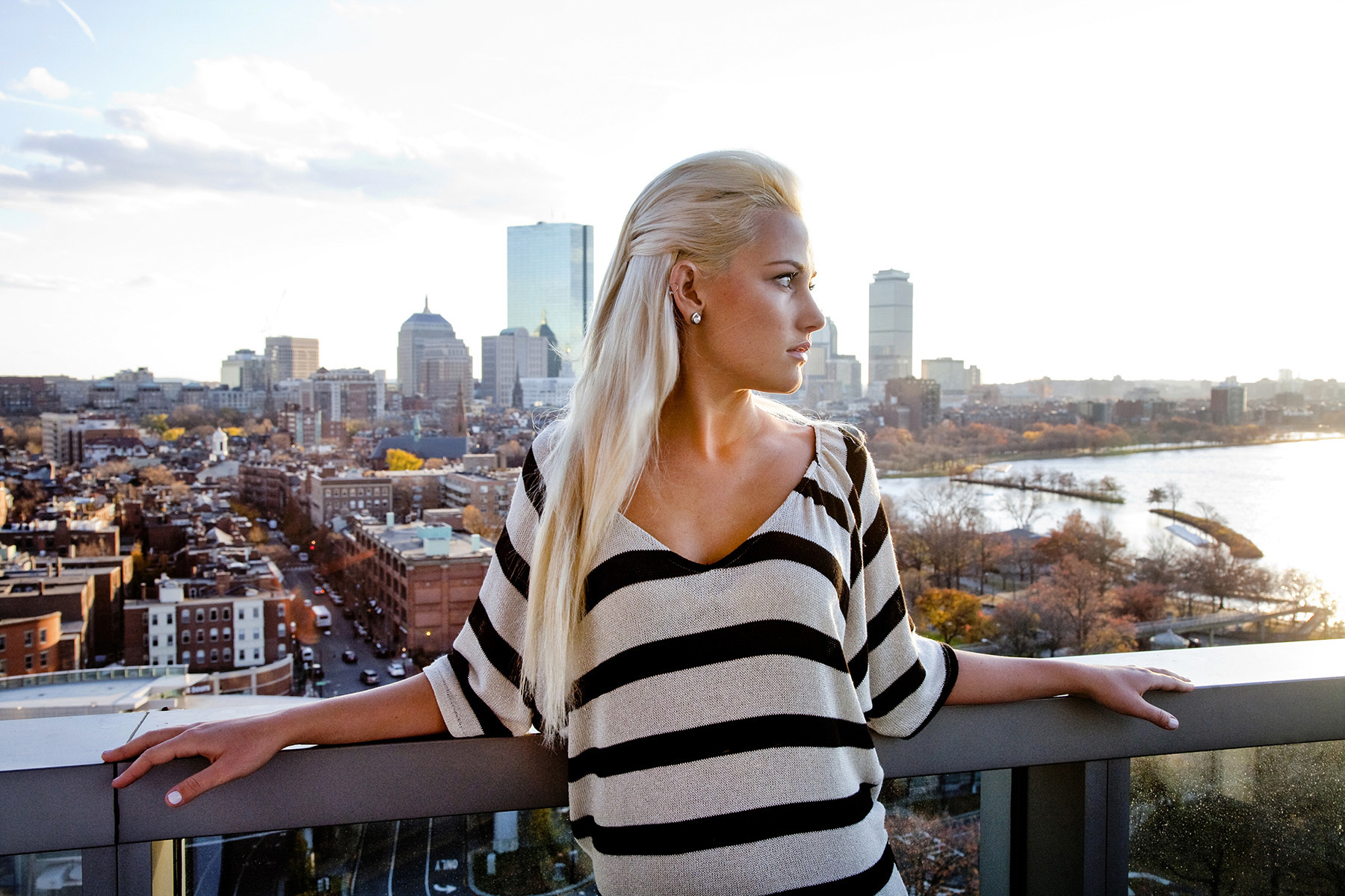 Boston Fashion Editorial magazine portrait