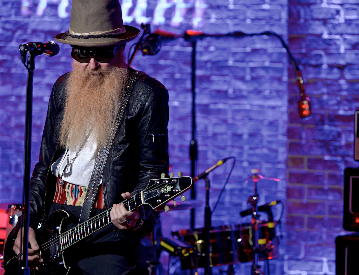 Billy F Gibbons The Bad Blues Tour with Matt Sorum, Austin Hanks and Elwood Francis Iridium New York City October 31, 2018  DerekBrad.com