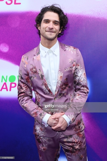 "LOS ANGELES, CALIFORNIA - FEBRUARY 27: Tyler Posey attends New Starz Series ""Now Apocalypse"" Premiere - Arrivals at Hollywood Palladium on February 27, 2019 in Los Angeles, California. (Photo by Leon Bennett/FilmMagic)"