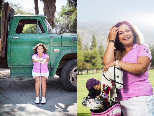 Lizette Salas for Golf Digest