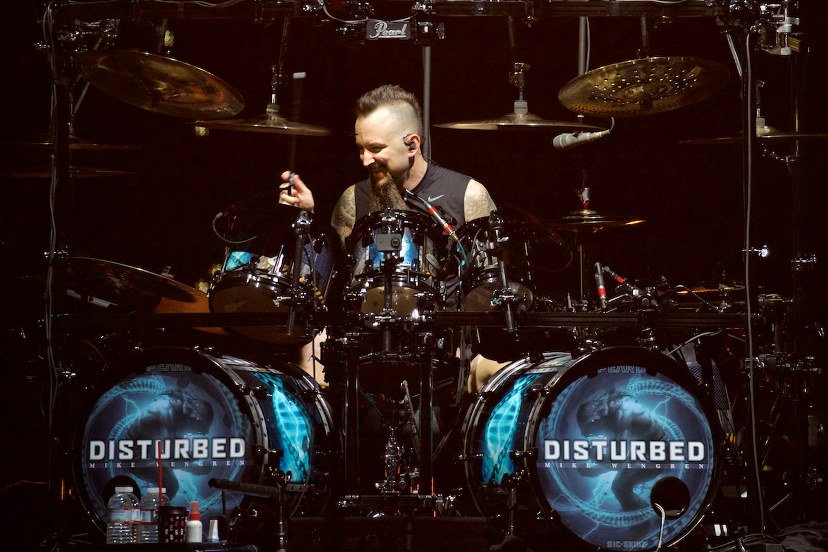 Disturbed Evolution Tour Wells Fargo Center Philadelphia, Pa February 18, 2019  DerekBrad.com