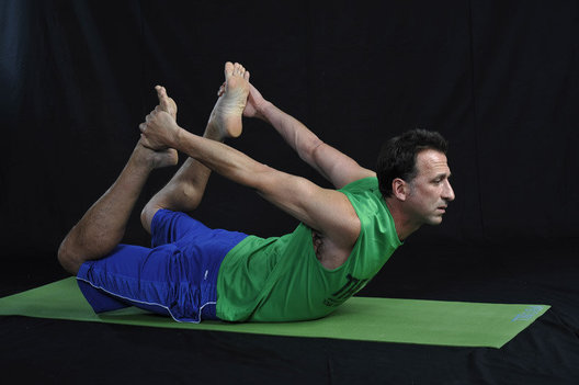 Increases strength & flexibility along the entire length of the spine. Stretches neck, shoulders, arms and legs