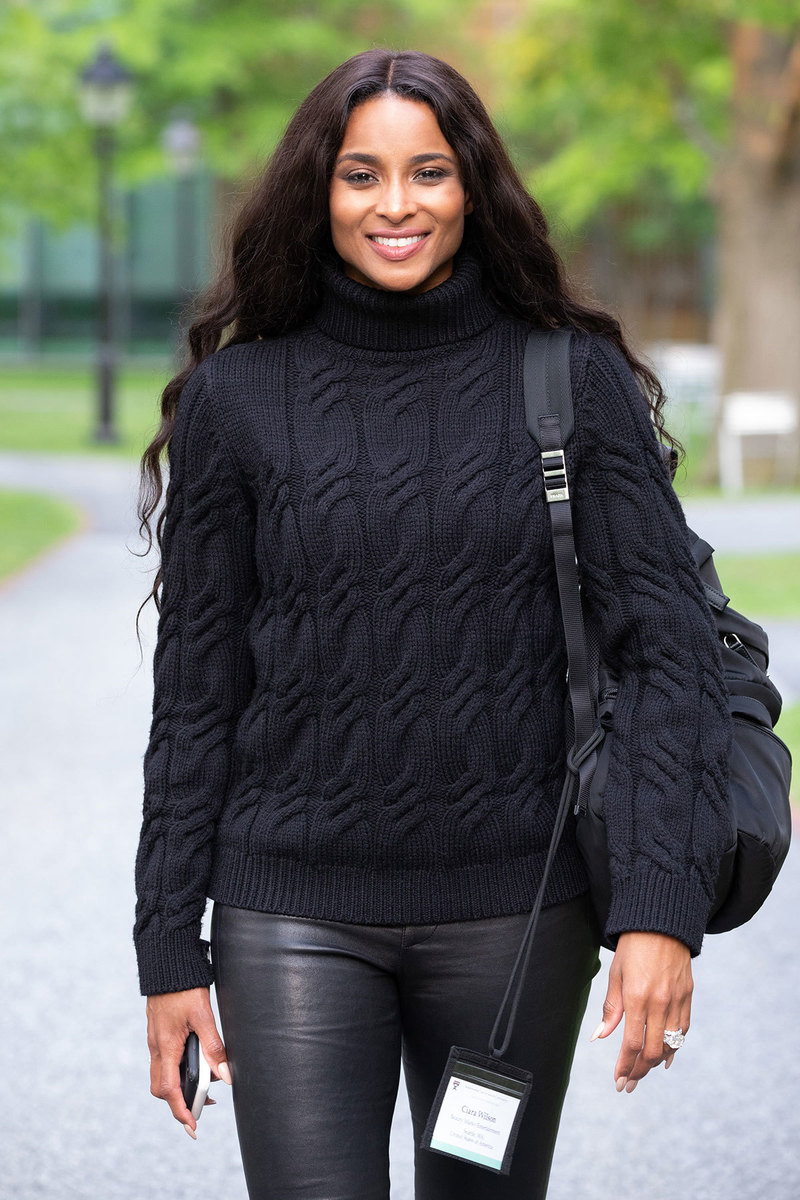 Ciara attending Business of Entertainment, Media and Sports program at Harvard Business School