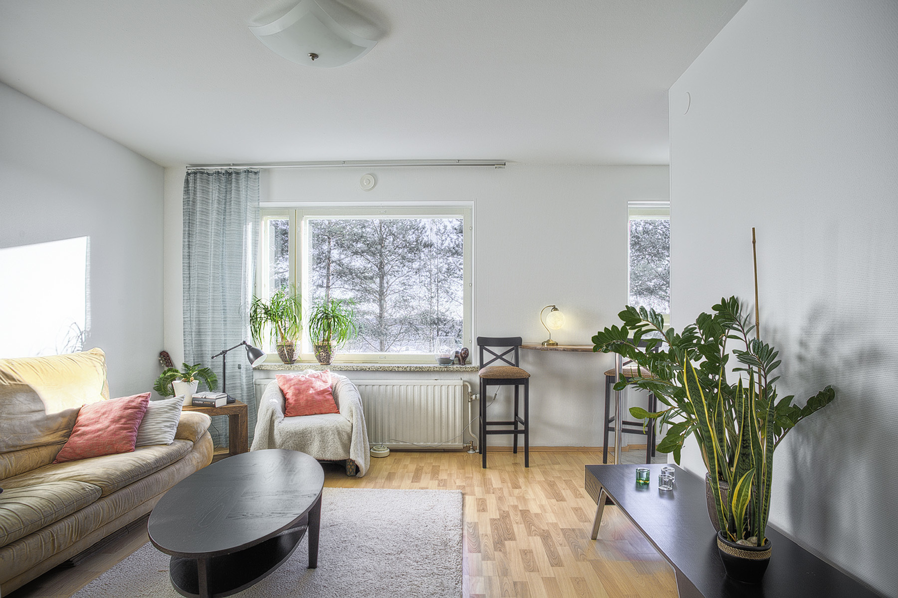SMALL APARTMENT LIVING ROOM (Finland. Sales photo.) | Siiligraphy