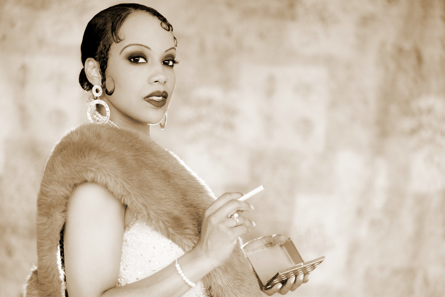 Actor emulation Josephine Baker
