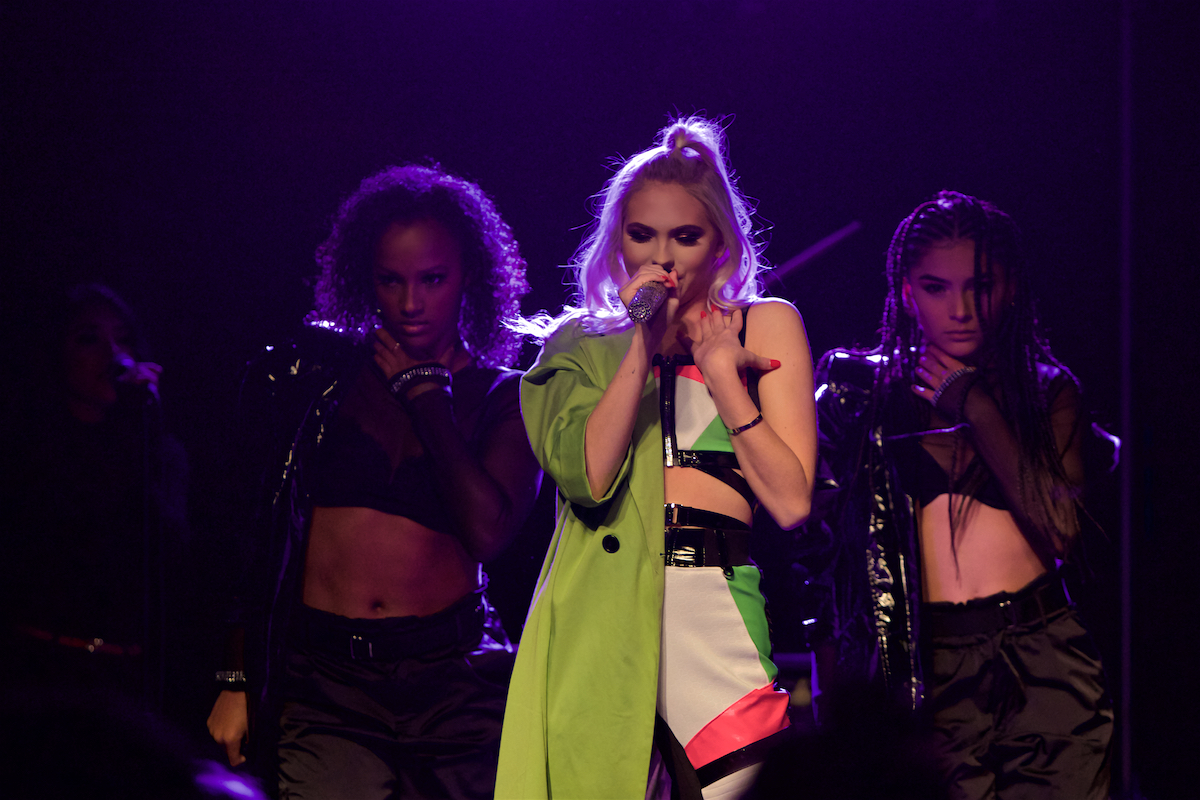 Jordyn Jones Eyes On Me Tour Voltage Lounge Philadelphia, Pa November 17, 2019  DerekBrad.com