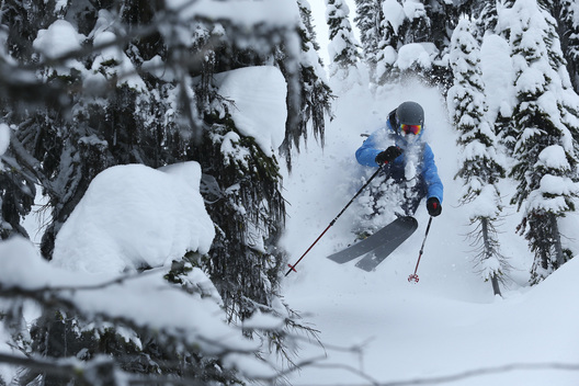 Ian McIntosh, Sunrise Lodge, Esplanade Rage, BC, Canada