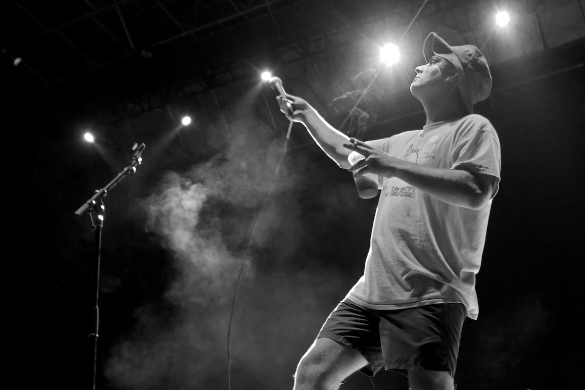 Mac DeMarco Skyline Stage at The Mann Center Philadelphia, Pa September 4, 2018  DerekBrad.com