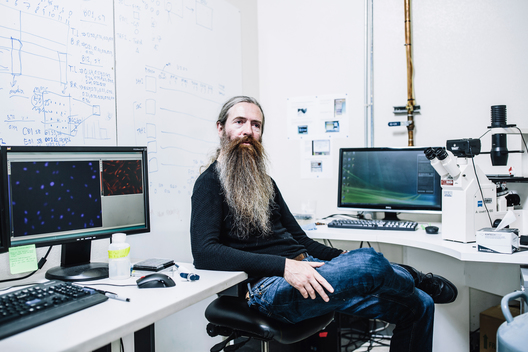 Aubrey de Grey, SENS Research Foundation // Buzzfeed News
