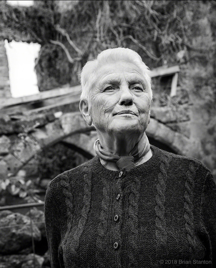 Portrait of long time Civita resident Rita M