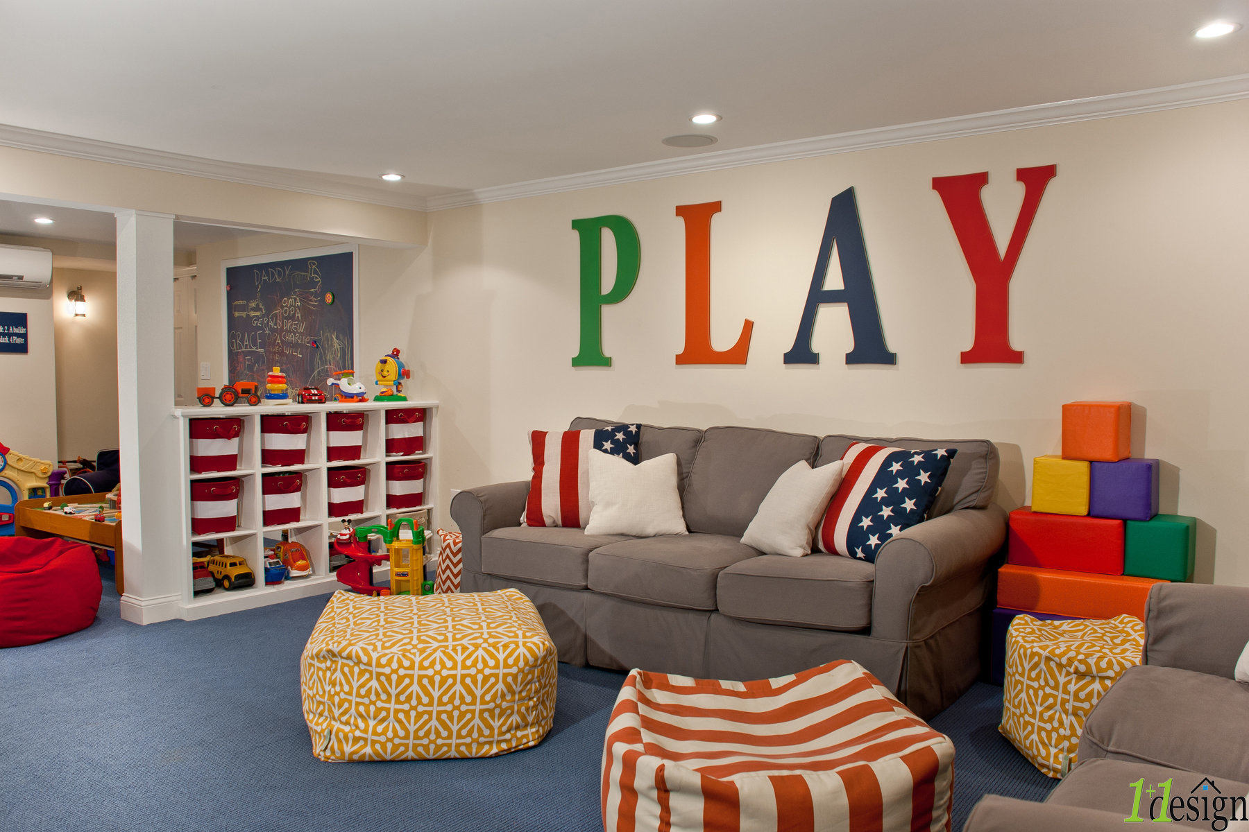 1plus1 designhinghambaskets storageblue carpetcubbieskids caveplay roomtoys & WEB-MCELANEY PLAYROOM-01.jpg | A Hingham based Residential ...