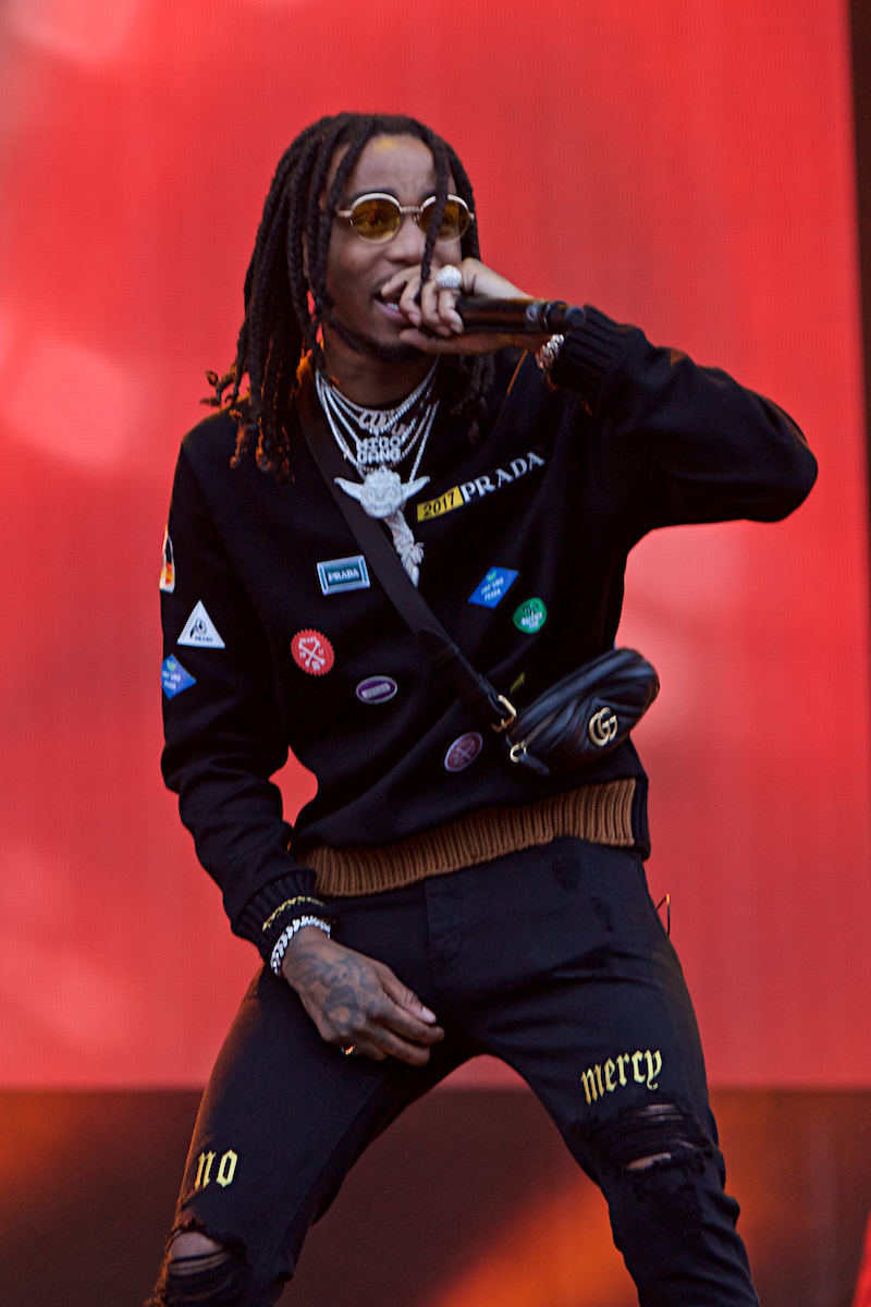 Migos Made In America Rocky Stage Benjamin Franklin Boulevard Philadelphia, Pa September 2, 2017  DerekBrad.com