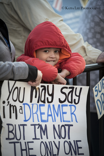 Rally to defend DACA in Columbia S.C., January 30, 2018