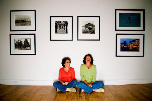 "Michelle Trunzo and Susan Bologna, owners of ""Gone Local"" in Amagansett, NY"