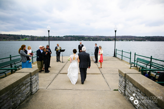 Syracuse wedding photographer for Syracuse elopement near Green Lakes State Park
