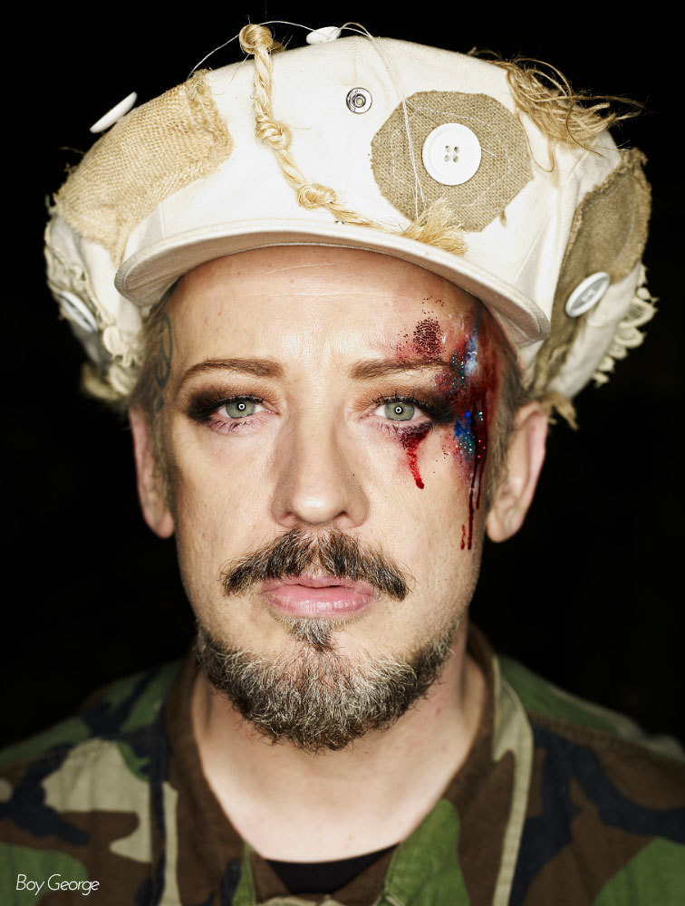 Boy George, by Jessica van der Weert