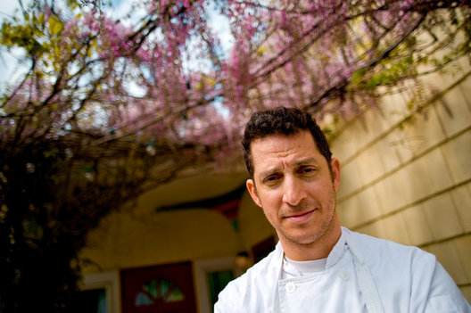 Chef Jason Weiner of Almond Restaurant in Bridgehampton, NY