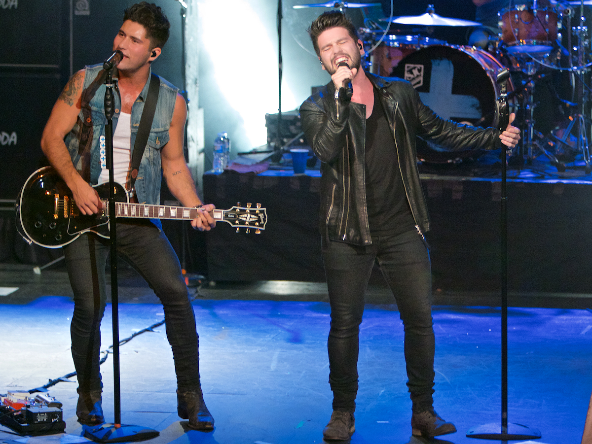 Dan + Shay Where It All Began Tour Trocadero Theatre Philadelphia, Pa October 24, 2014  DerekBrad.com