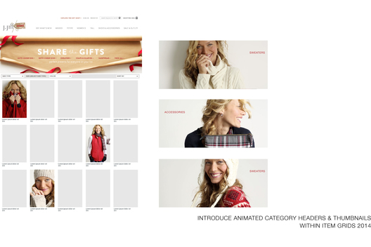Introduce Animated Gifs into Thumbnail Grid Pages and Category Headers
