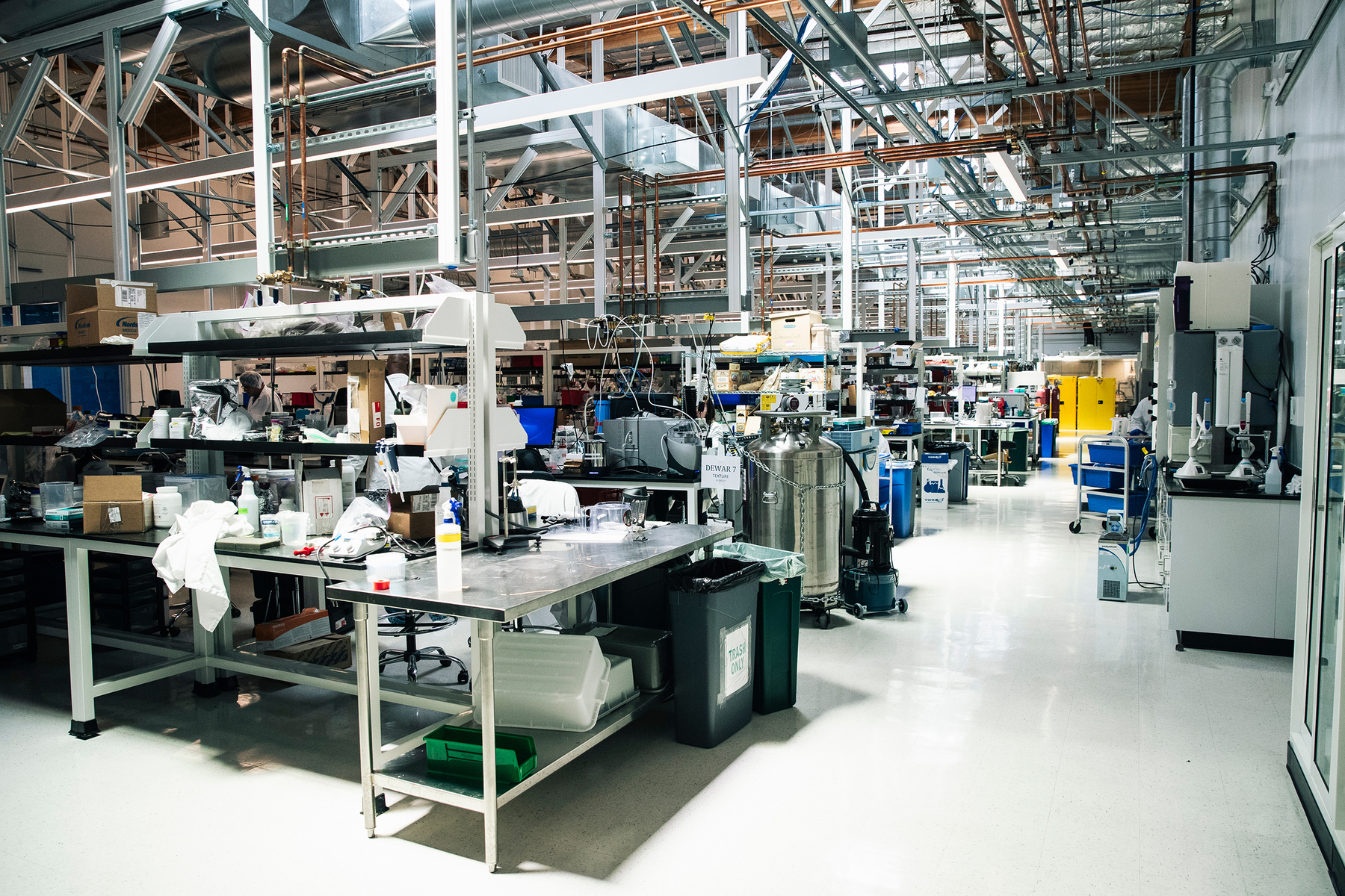 An interior view of the R&D lab inside Impossible Foods headquarters in Redwood City, Calif. on Thursday, June 20, 2019.