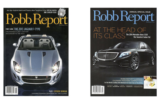 Robb Report / Covers / Thierry Bearzatto Photography