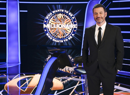 "WHO WANTS TO BE A MILLIONAIRE - ABC's ""Who Wants To Be A Millionaire"" stars Jimmy Kimmel. (ABC/John Fleenor)"