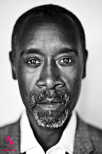 Don Cheadle photographed at The Spare Room, Roosevelt Hotel, Los Angeles, CA March 9 2016.