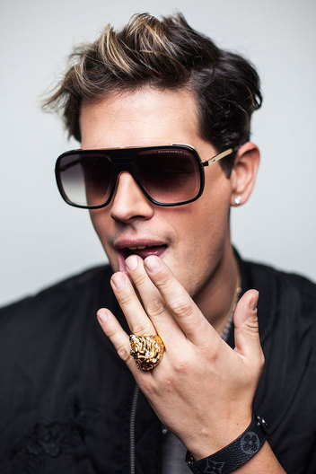 Milo Yiannopoulos, photographed at the Palihouse Hotel, West Hollywood.