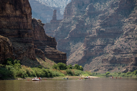6 Day rafting trip through Desolation Canyon with HRE