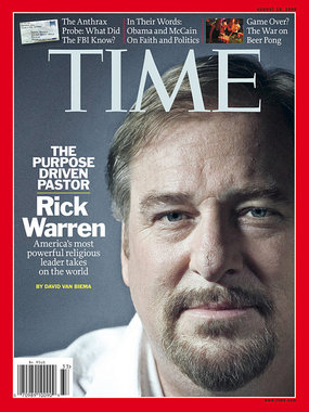 Rick Warren for TIME