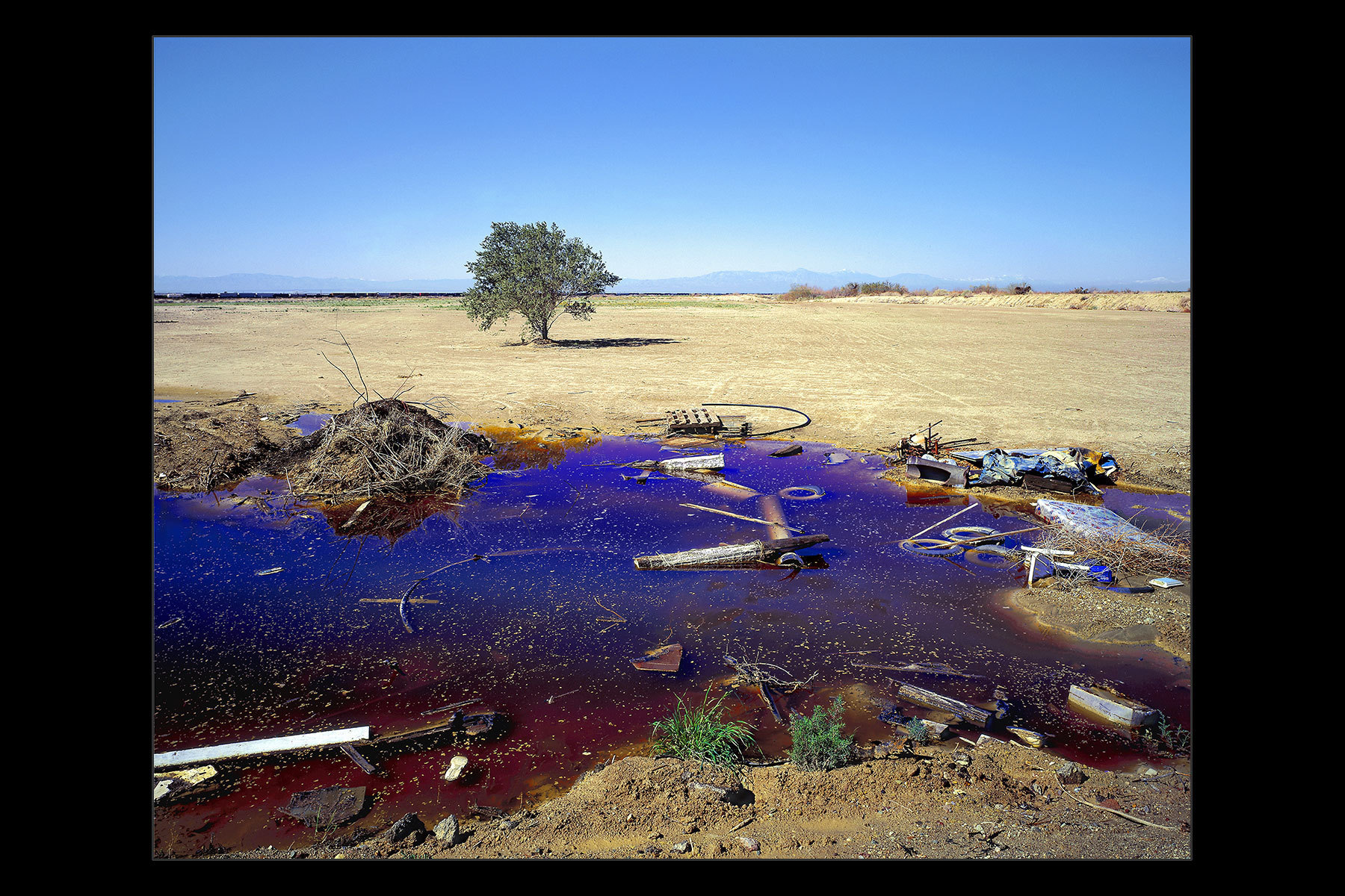 polluted run-off, Niland