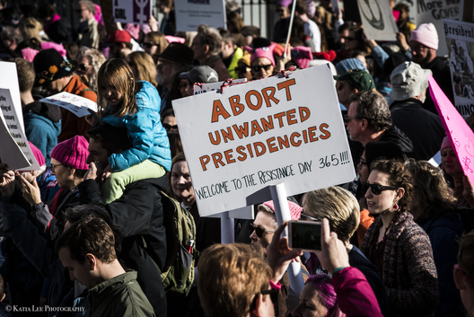 Women's March in Washington D.C., January 20, 2018