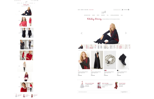 Introduce New Function for shopping ease while viewing New Collection LookBook