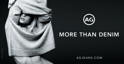 AG Jeans Holiday 2017 Billboard.