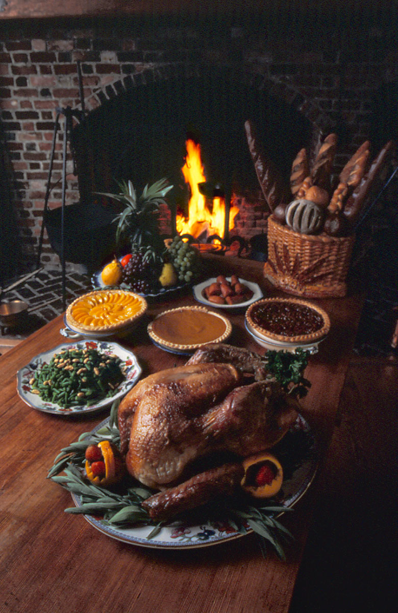 Thanksgiving Dinner, Williamsburg, VA