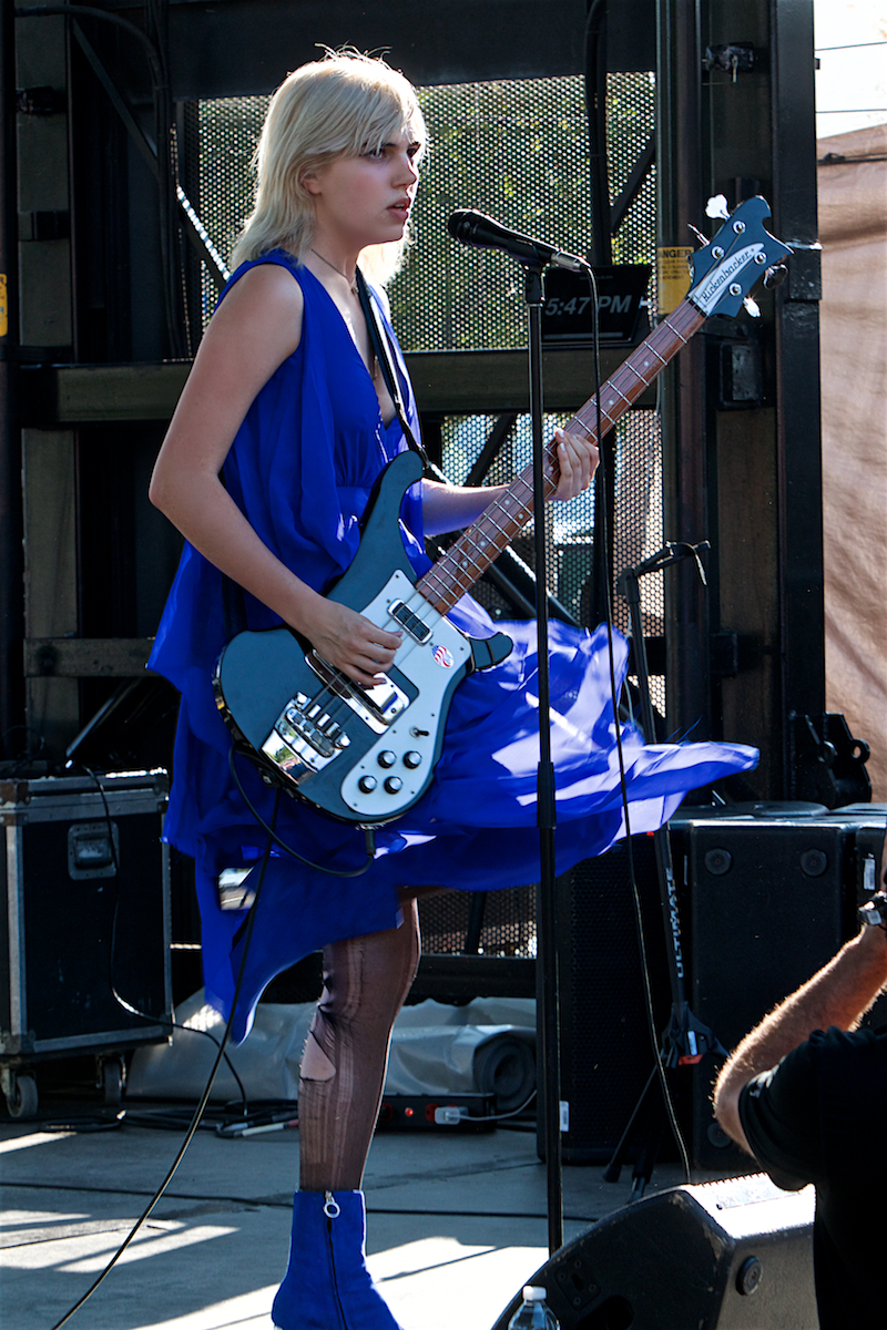 Sunflower Bean 25 Years of XPoNential Music Festival  Marina Stage Camden, NJ July 28, 2018  DerekBrad.com
