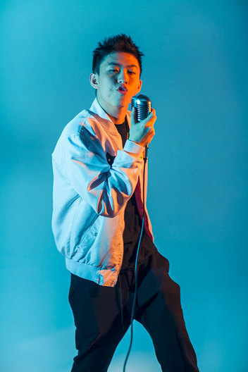 Brian Imanuel, aka Rich Brian, photographed in Los Angeles for Forbes magazine.