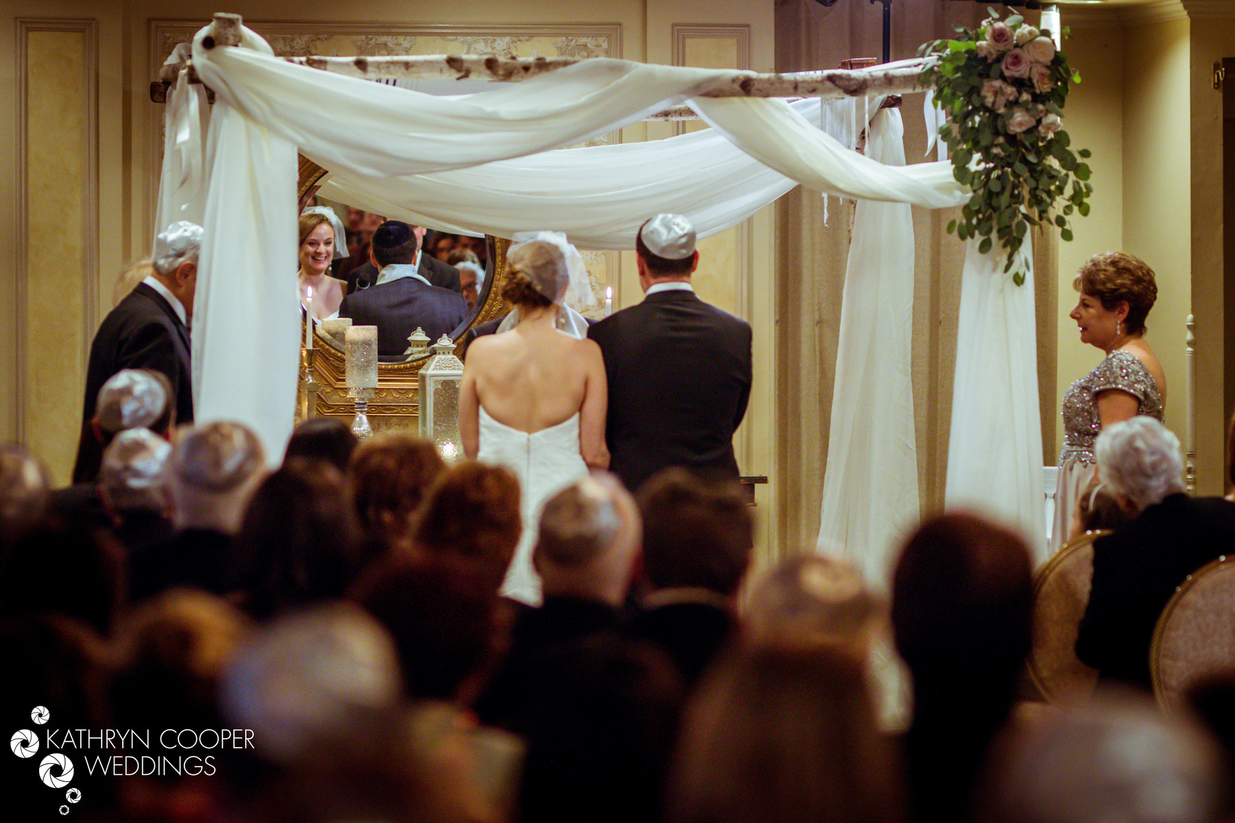 Chuppah New Jersey for Dana and Jared's wedding ceremony in morris plains New Jersey