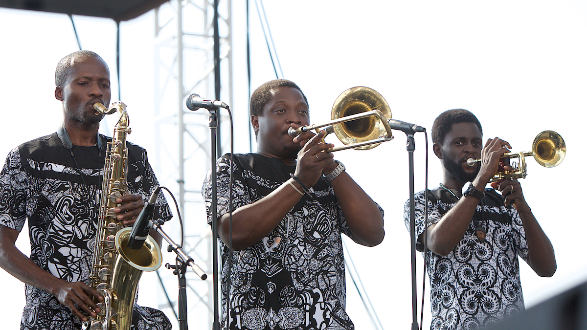 Femi Kuti 25 Years of XPoNential Music Festival  River Stage Camden, NJ July 28, 2018  DerekBrad.com