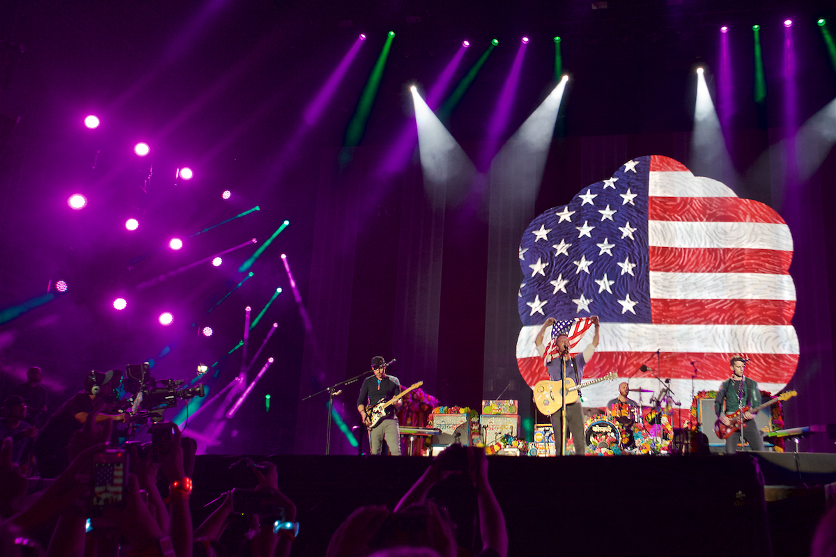 Made In America Rocky Stage Benjamin Franklin Parkway  Philadelphia, PA September 4, 2016  DerekBrad.com