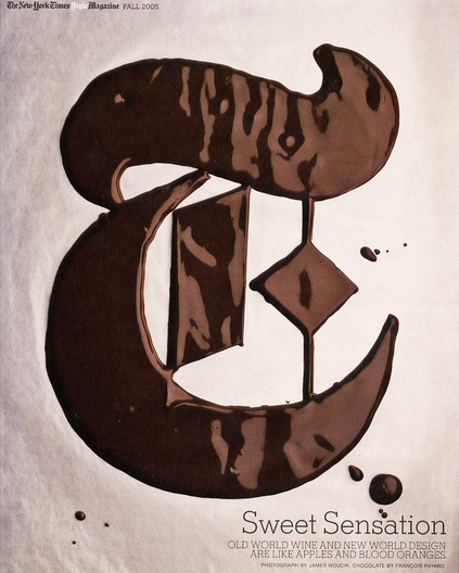 melted chocolate logo