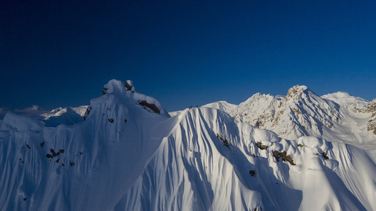 Griffin Post, Ian McIntosh, Dane Tudor, Tordrillo Mountains, Alaska